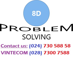 8D Training Course - The process of solving the problem according to Eight Disciplines