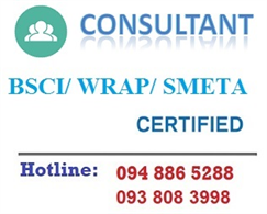 BSCI Consultant, WRAP Consultant, SEDEX/ SMETA & OHSAS 18001 Occupational Health And Safety Management System