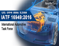 IATF 16949: 2016 consultant - New Automotive QMS of International Automotive Task Force IATF