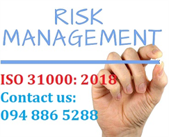 Consultant ISO 31000: 2018, Training ISO 31000: 2018 - Organization risk management standards.