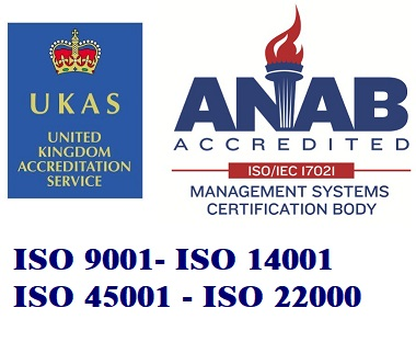 UKAS/ ANAB Accreditation Mark